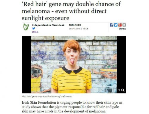 The Irish Skin Foundation comments on Dr. Okamoto's research and urges people to know their skin type
