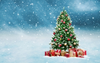 Weihnachten-Christbaum